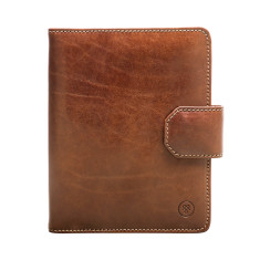Personalised Mozzano A5 Luxury Leather Notepad