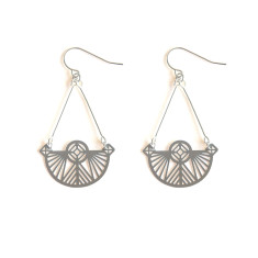Stainless Steel Petra Earring