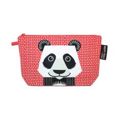 Panda pink pencil case