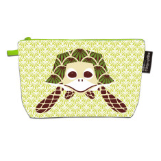 Turtle green pencil case