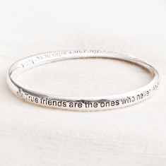 True friends message bracelet