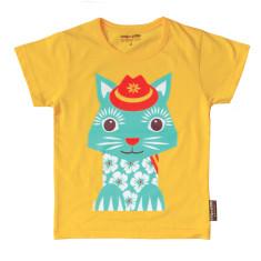 Organic cotton cat t-shirt