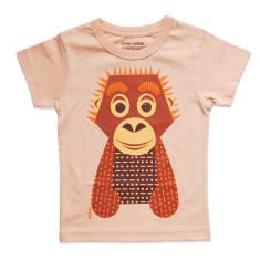 Orangutan beige kids' t-shirt