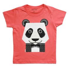 Panda pink kids' t-shirt