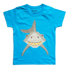 Shark organic cotton kids' t-shirt