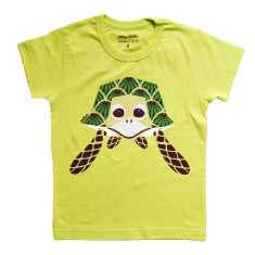 Turtle green kids t-shirt