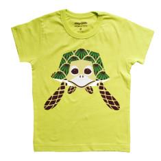 Turtle green kids t-shirt