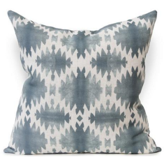 Obsidian Urban Aztec Cushion Cover in Rockpool