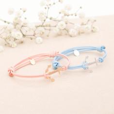 Personalised Mini Anchor Bracelet for Kids