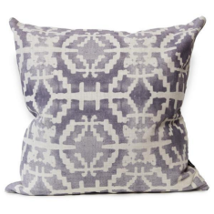 Sunstone Urban Aztec Cushion Cover in Violet Verbena