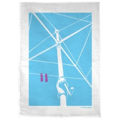Hung Out To Dry tea towel