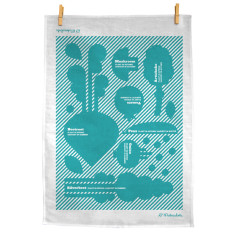 Plant in Time 100% Linen tea towel