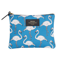Woouf Pouch Large - Flamingo