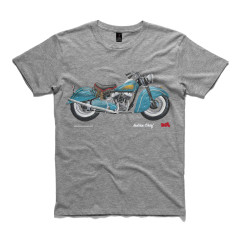 Indian chief motorcycle men's t-shirt
