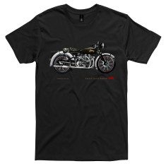 Vincent motorcycle men's t-shirt