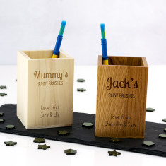 Personalised Paint Brush Holder