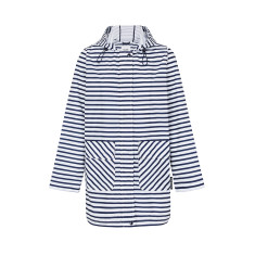 Women's anyday raincoat in zig stripe