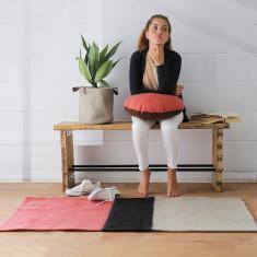 Seti felted wool rug