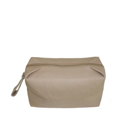 Nude toiletry bag