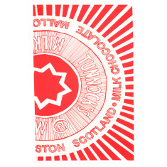 Teacake wrapper tea towel