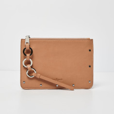 On The Run Vegan Leather Clutch (Various Colours)
