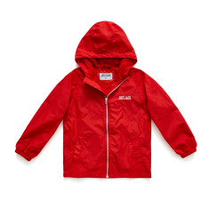Boys Red Shell Jacket