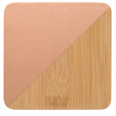 Bamboo Coasters Metallic Copper (set of 4)