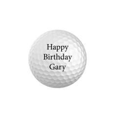 Design your own golf balls (set of 6)