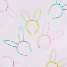 Easter bunny ears headband