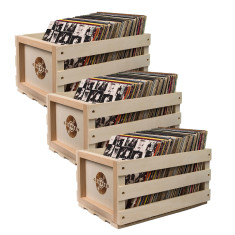Crosley Record Crate - 3 Pack (buy 2 & get 1 free)