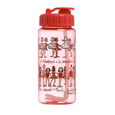 Tyrrell Katz Ballet drink bottle with straw