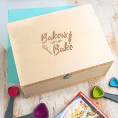 Bakers Gonna Bake Recipe Box
