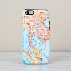 Thailand map iPhone Samsung phone case