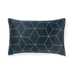 Sine slate standard pillowcase