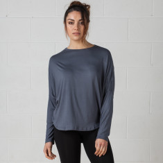 Long sleeve circular top