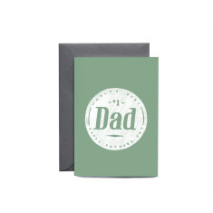 World's Best Dad Greeting Card