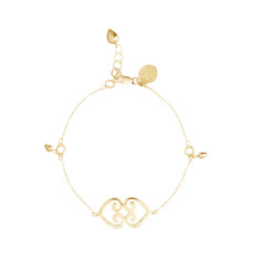 Adinkra Divinity Charm Bracelet