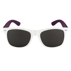 Breo Two Tone Sunglasses - White/ Purple