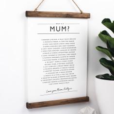 Mum Poem Print