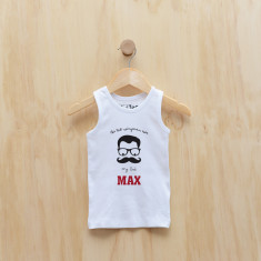 Personalised Best wingman ever... my Dad singlet