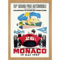 Monaco Grand Prix 1957 Print