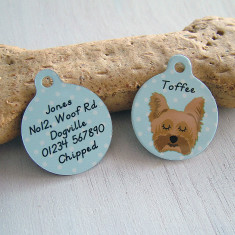 Personalised Pet Name Tag