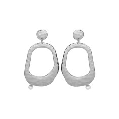 Riviera Large White Pearl Earrings (various colors)