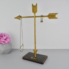 Gold Arrow Jewellery Stand