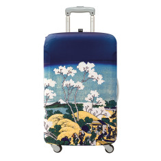 LOQI luggage cover museum in hokusai mt fuji