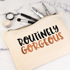 Routinely Gorgeous Makeup Bag