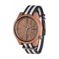 Torpedo Nut Grey Wood Watch