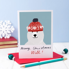 Personalised Christmas Card (Pack of 5)