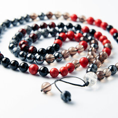 I love chakras root chakra mala beads for grounding