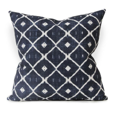 Tizoc Urban Aztec Cushion Cover in Ink